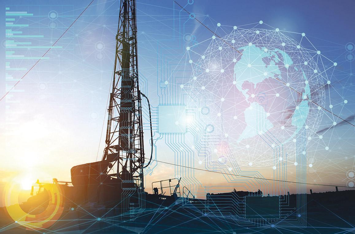 Energieinfrastruktur: Anlagen zur Gasgewinnung