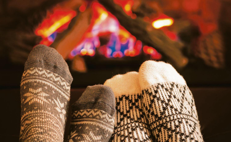 Warme Wollsocken sind im Winter eine Wohltat. Mit ihrer Hilfe lassen sich auch Heizkosten sparen