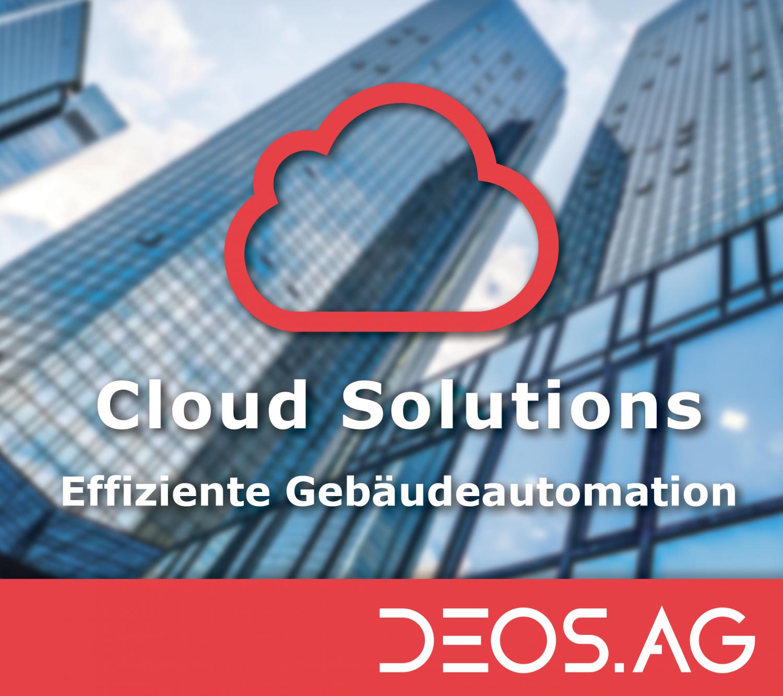 Cloud-Lösungen für die Gebäudeautomation