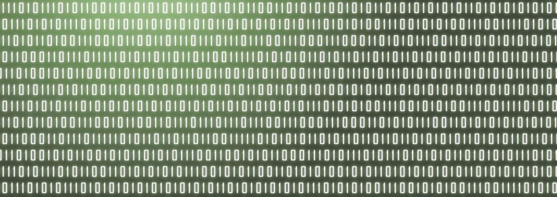 Binärcode. Symbolbild zum Energiedatenmanagement