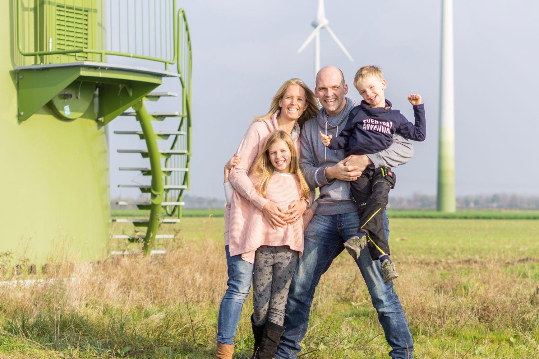 Familie Lange produziert ihren Strom selbst.