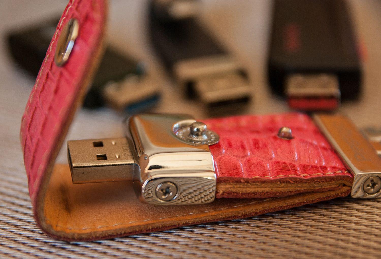 Ein USB-Stick. Die Forschung am Superspeicher schreitet voran