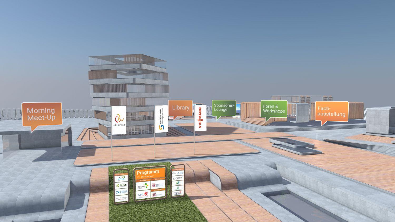 Virtuelle Kongresswelt und Zukunftsforum